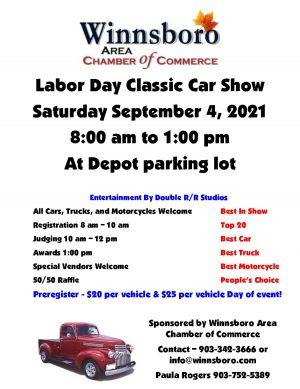 Labor Day Classic Car Show